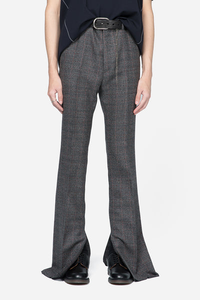 Lanvin - Slit Hemline Trousers Grey