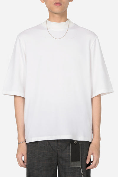 Banks Drain Us - Jess Mock Rib Tee Angel White