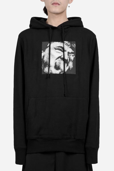 424 - Donald Chump Hooded Sweatshirt Black