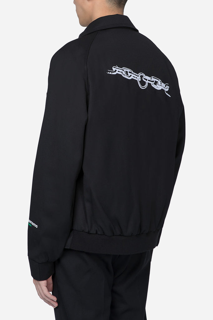 "Coach Jacket ""Chain"" Black"