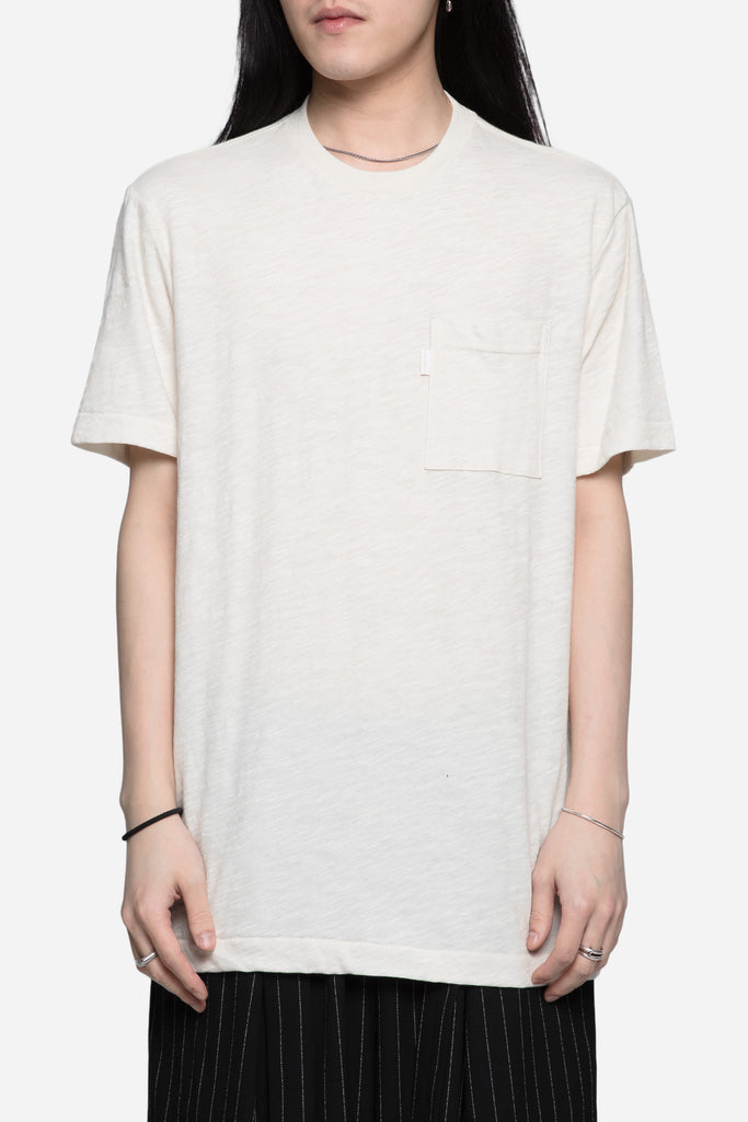 Reverse French Terry Pocket Tee Eco