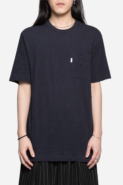Aimé Leon Dore - Reverse French Terry Pocket Tee Dark Midnight