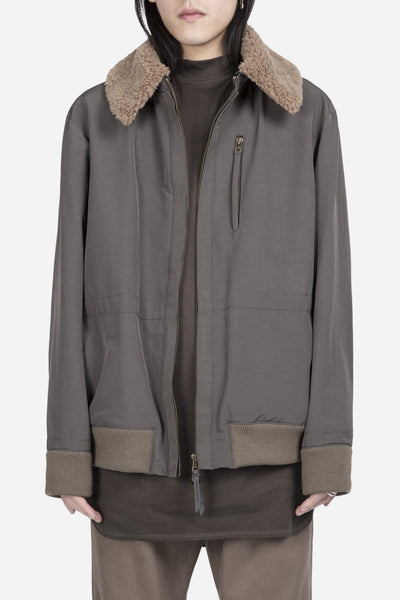 robert geller - The Raphael Bomber Khaki