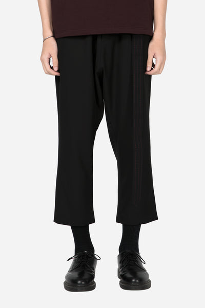Banks Drain Us - Mich Formal Trouser Dry Onyx + Blood Red Stiches