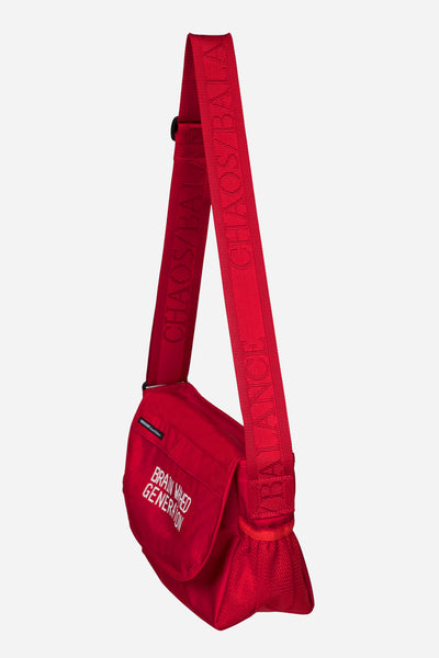Brain washed Small Bag Red