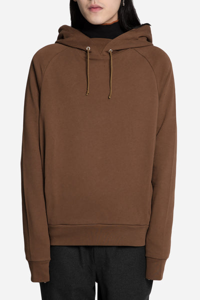 Martine Rose - Classic Embroidered Hoodie Brown/Orange