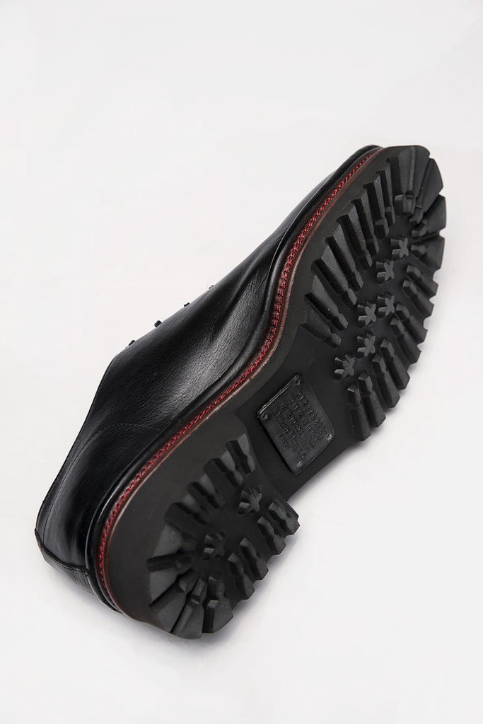 Learther Shoes Black