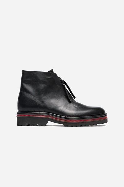 Maison Margiela - Leather Boots Black