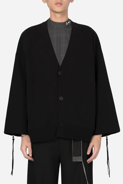 Banks Drain Us - Coli Knit Zip Cardigan Dry Onyx