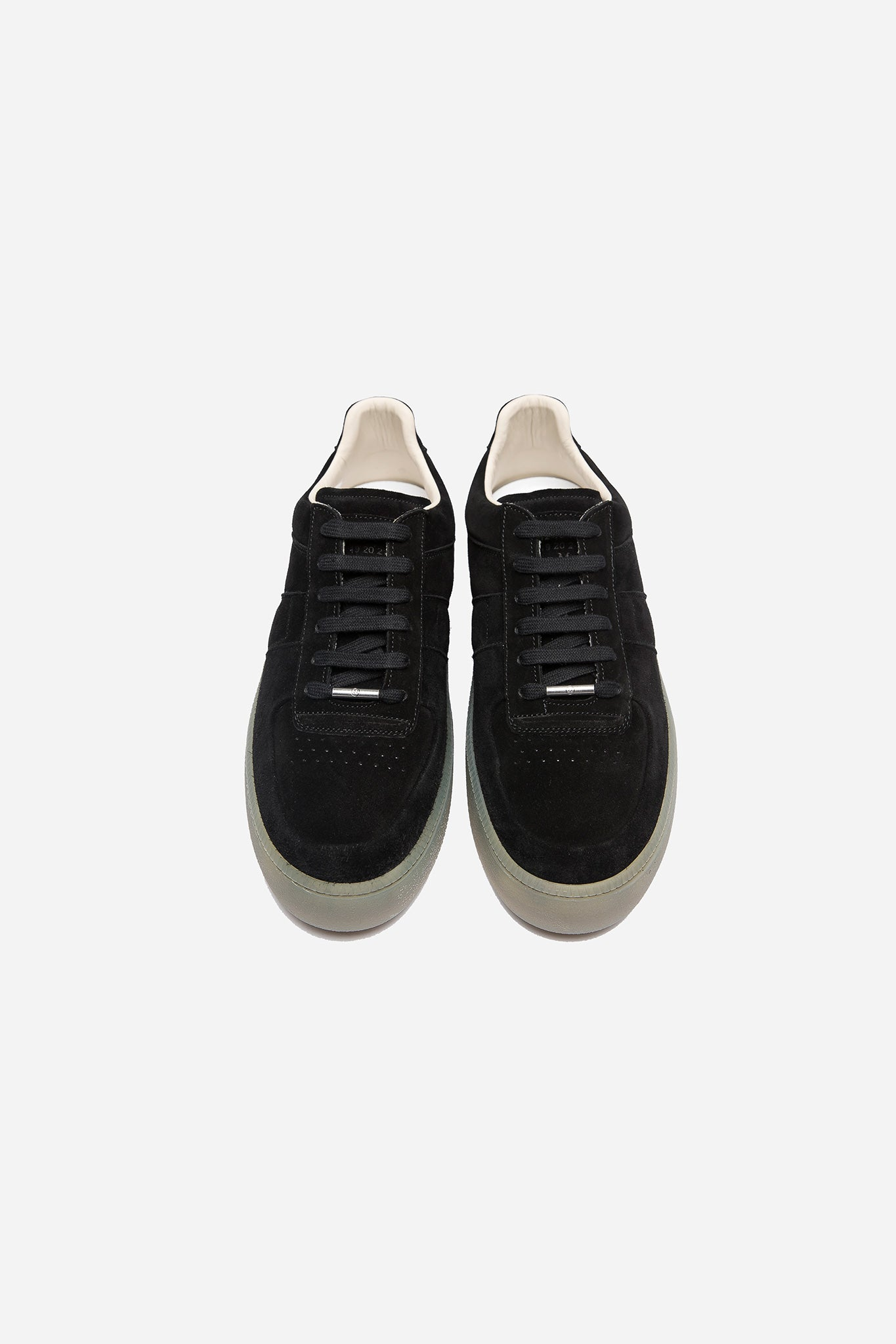 Chunky Sole Sneakers Black Cream