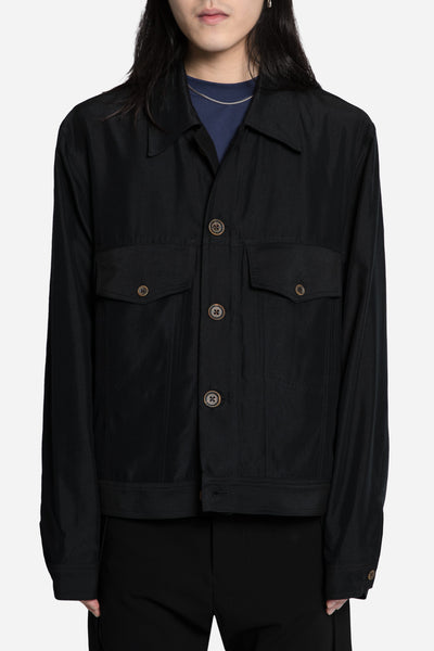 Song for the mute - Worker Jacket Black