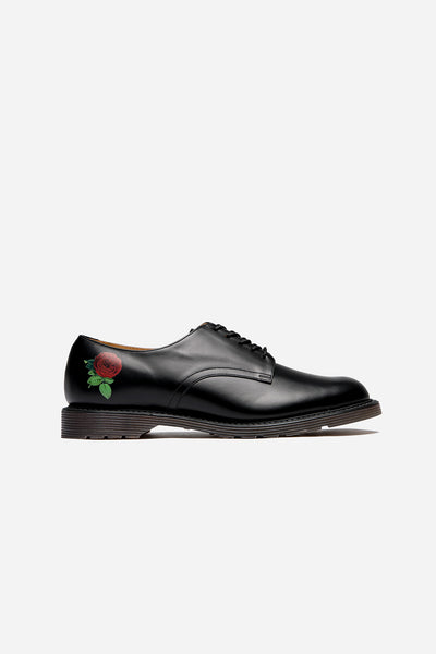 Undercover - Derby with Flower Print Black