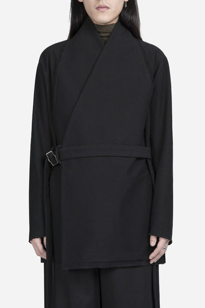damir doma - Jackson Wrapped Coat Coal