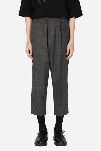 Banks Drain Us - Mich Formal Trouser Grey Gold Check