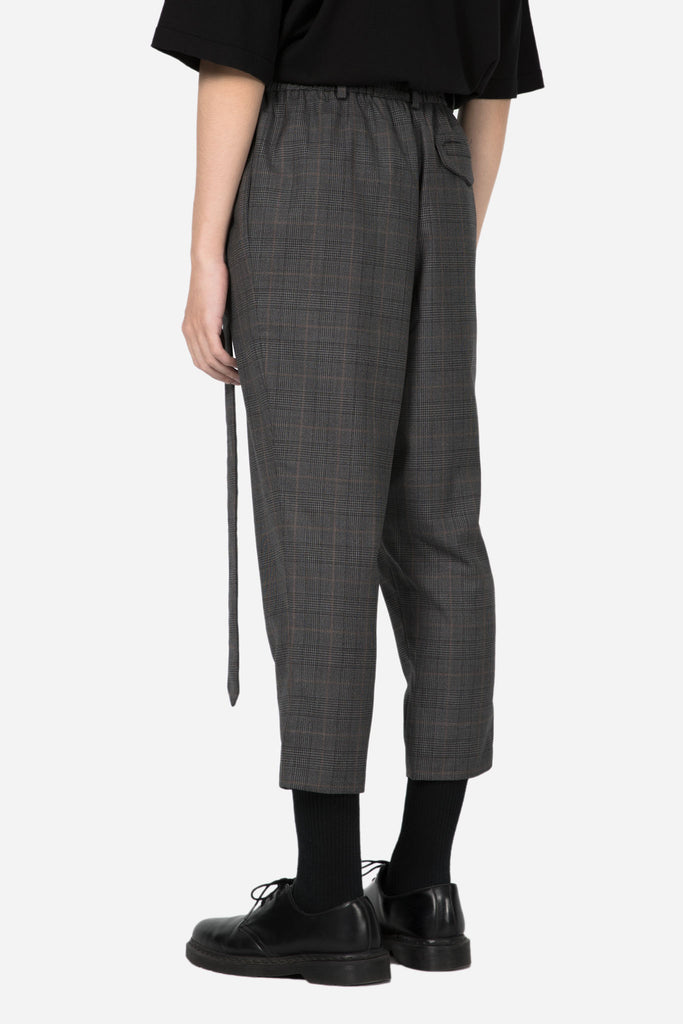 Mich Formal Trouser Grey Gold Check