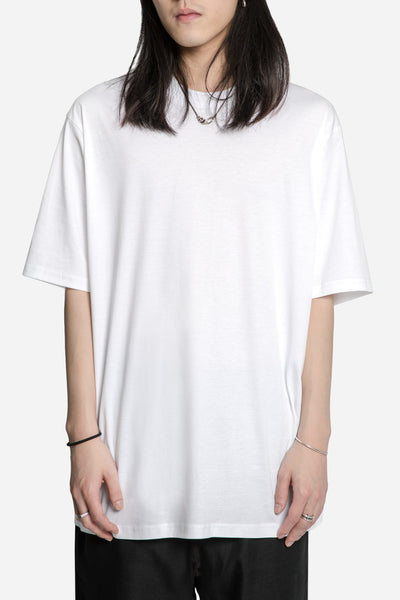 Song for the mute - 'Beau' Print Oversized Tee White