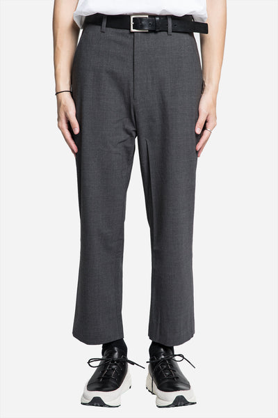 Second / Layer - Relaxed Cropped Trouser Grey