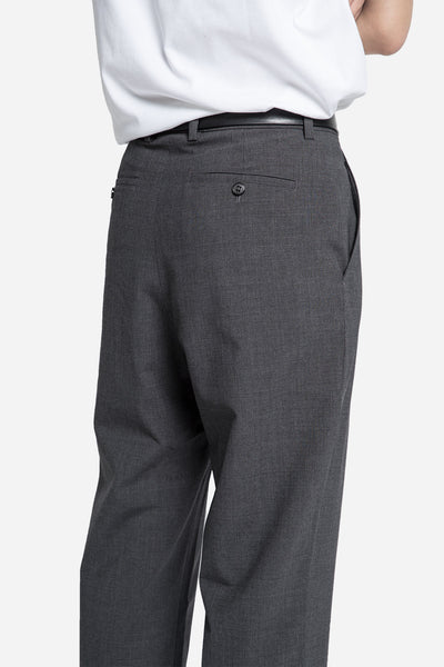 Relaxed Cropped Trouser Grey