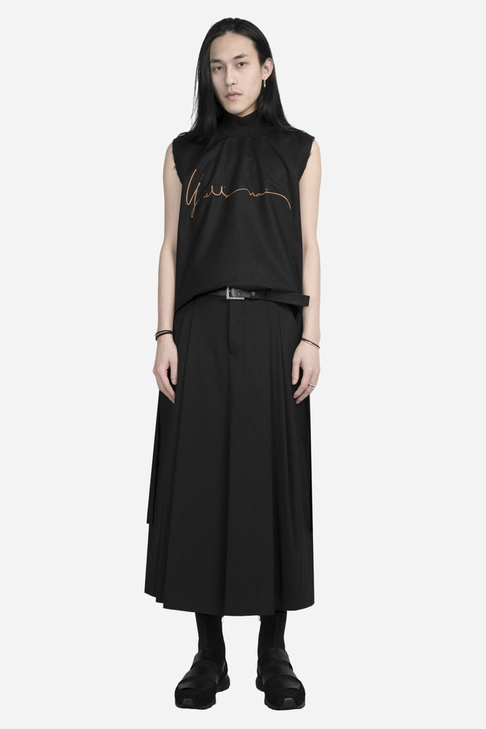 Pavlov Cropped Wide Pant Coal