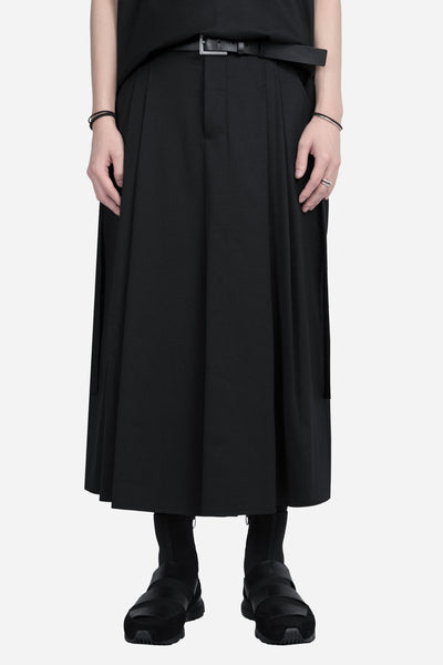damir doma - Pavlov Cropped Wide Pant Coal