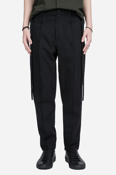 damir doma - Pissarro Raw Edge Tape Pant Coal