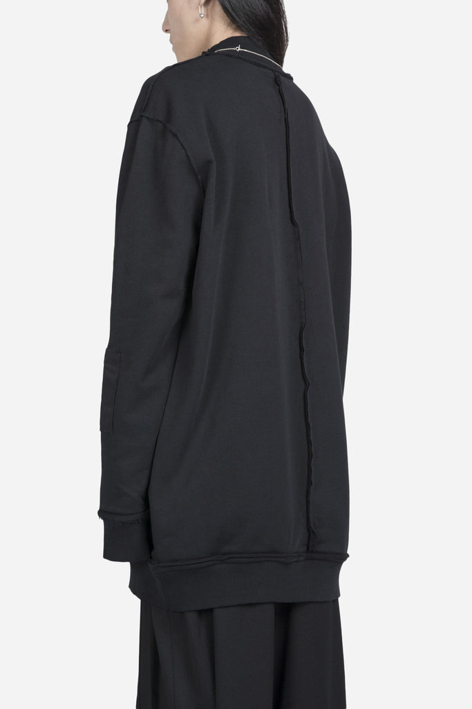 Wagner Oversized Sweatshirt Coal