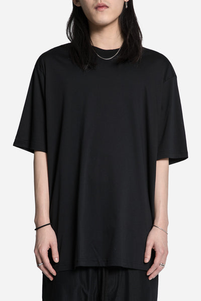 Song for the mute - 'Beau' Print Oversized Tee Black
