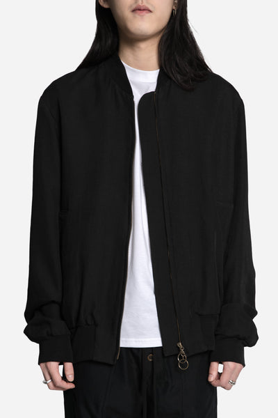 Song for the mute - Oversized Rib Bomber Black