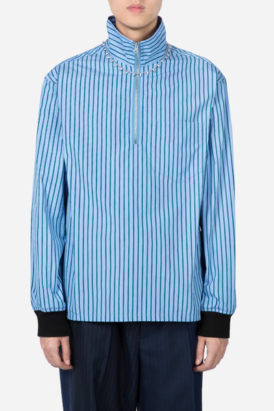 Marni - L/S Jumpers Light Blue Stripes