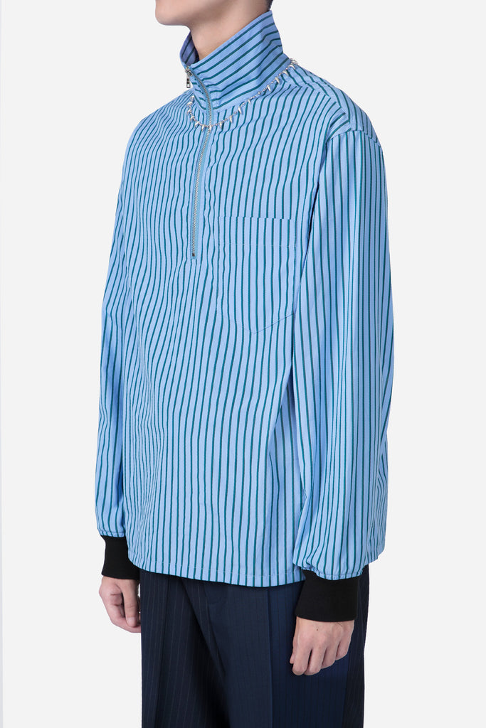 L/S Jumpers Light Blue Stripes