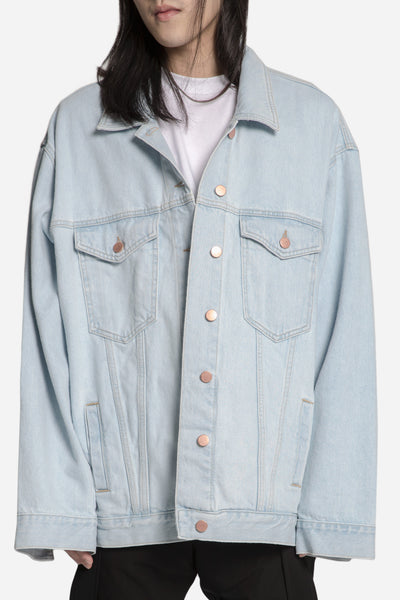 Martine Rose - Oversized Denim Jacket Light Blue