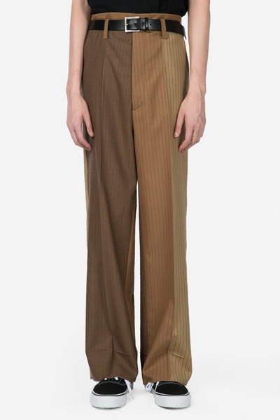 Marni - Pinstripe Trousers Camel