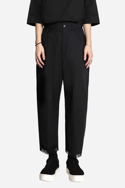 Tourne de Transmission - Plan C Taylored Oversized Pant Black Pinstripe