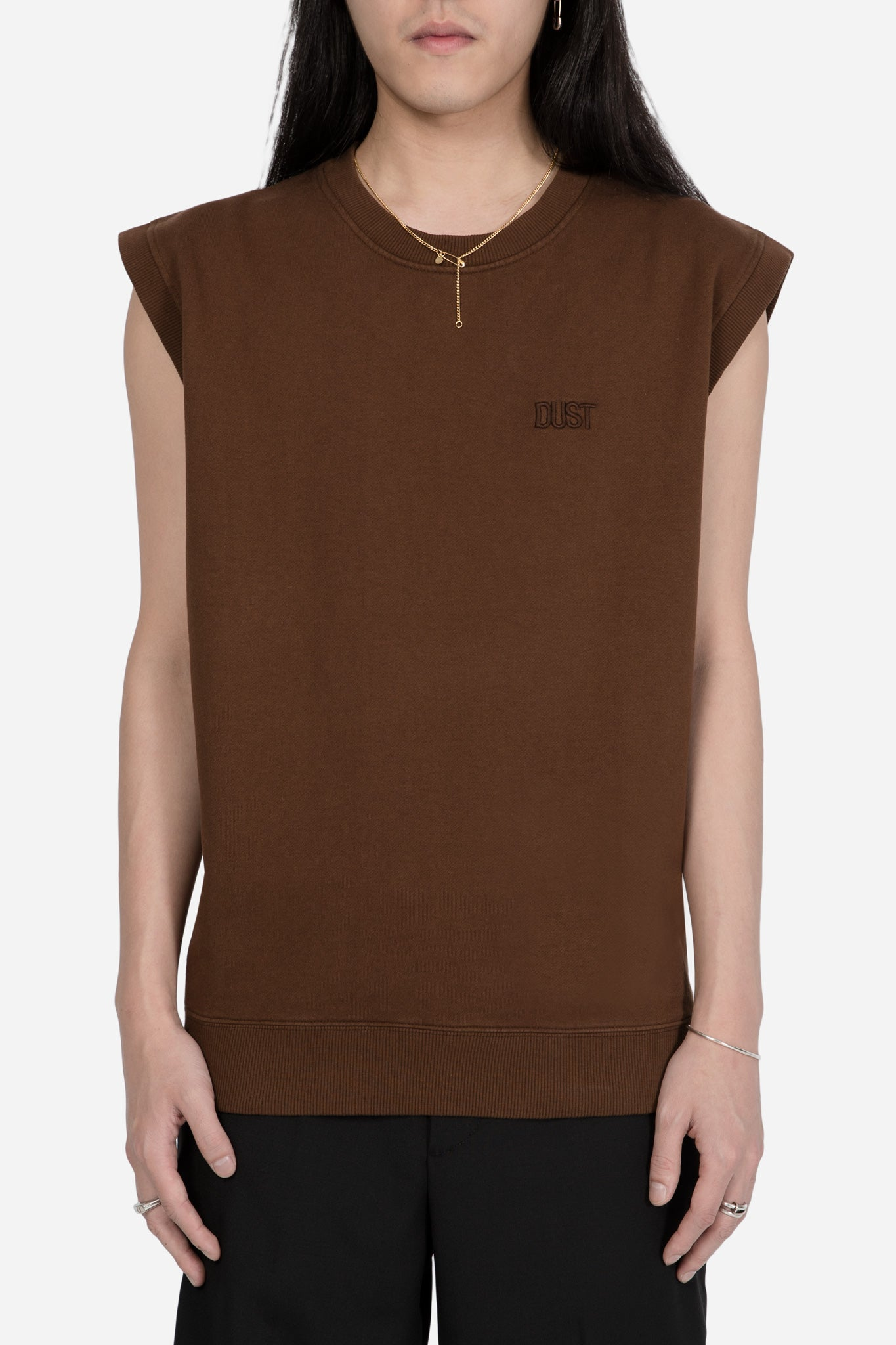 STYLE 5 OPT 1 Sweatshirt Vest Brown