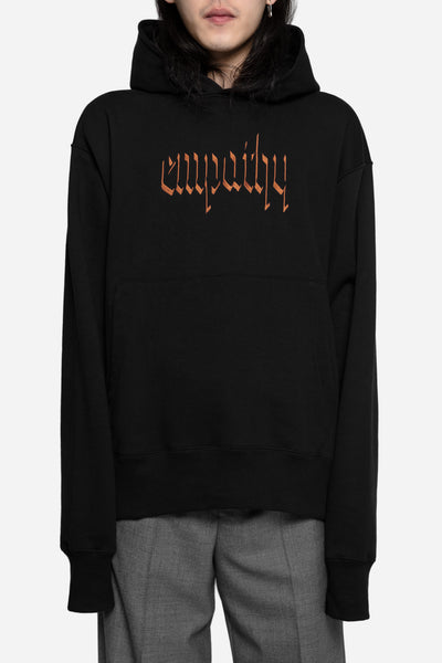Resort Corps - Collab Empathy Embroidered Hoodie Black