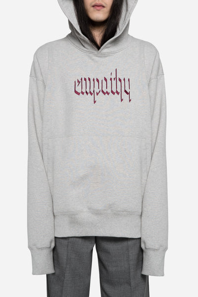 Resort Corps - Empathy Embroidered Hoodie Grey