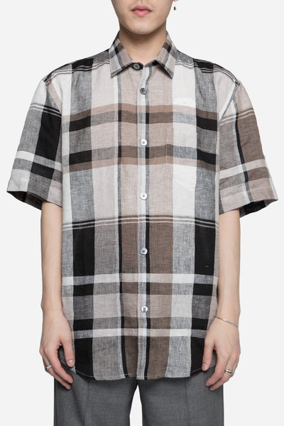 Our Legacy - Initial SS Shirt Linen Check
