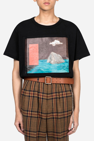 Off-White - Door T-shirt Black Multicolor