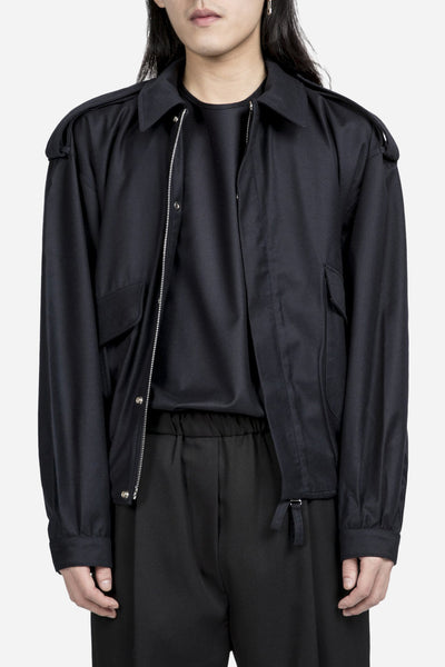 e. tautz - Bomber Jacket Dark Navy