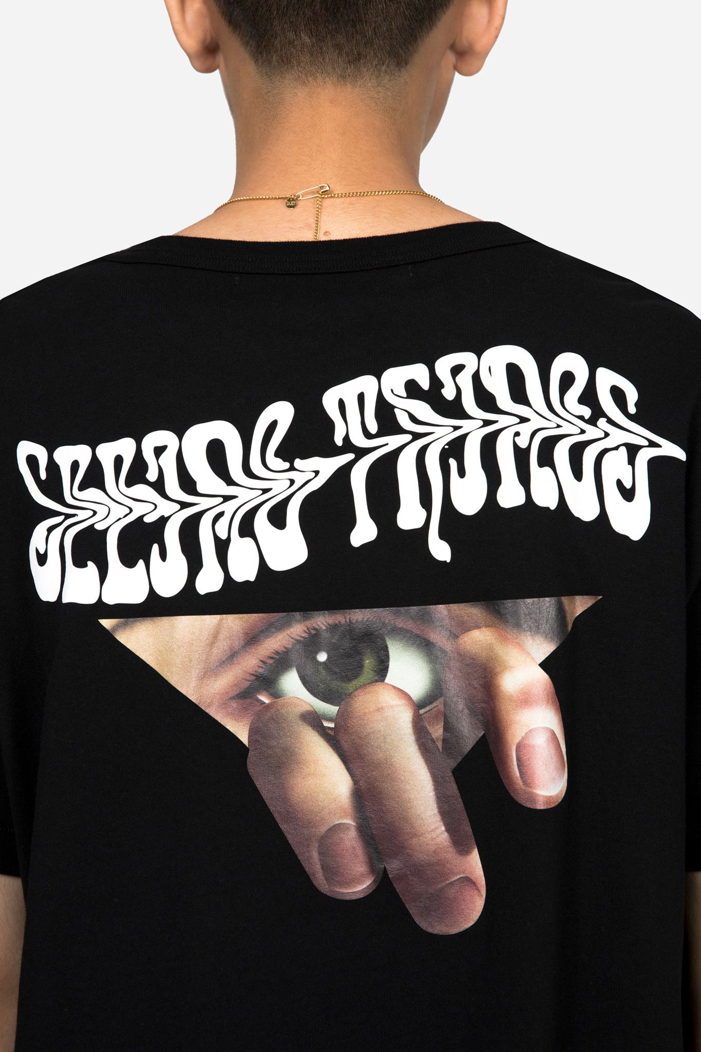Eyes T-shirt Black Multicolor