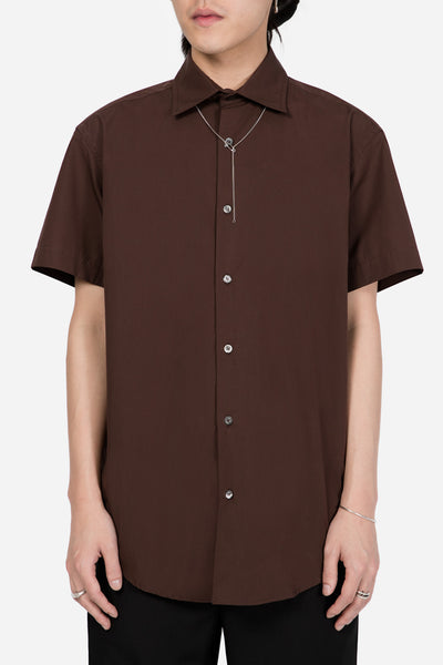 Dust - STYLE 7 SS Shirt Brown