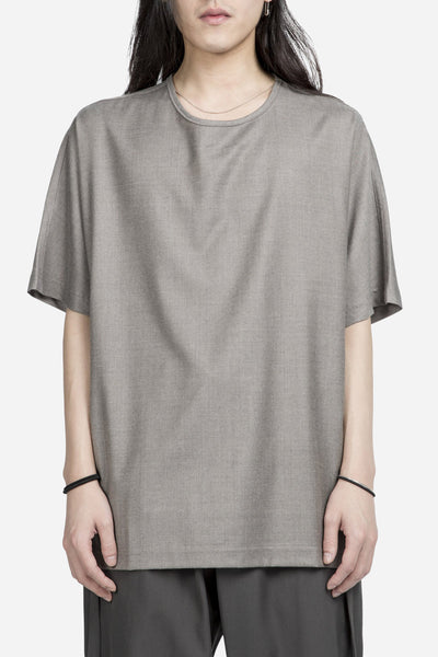 e. tautz - Boxy T-Shirt Light Brown