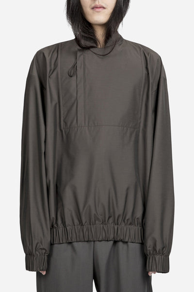 e. tautz - Track Top Nylon Brown