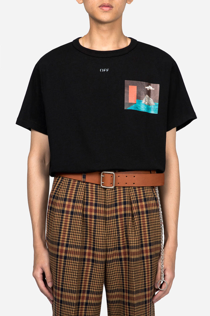 Mini Door Tee SS Black Multicolor