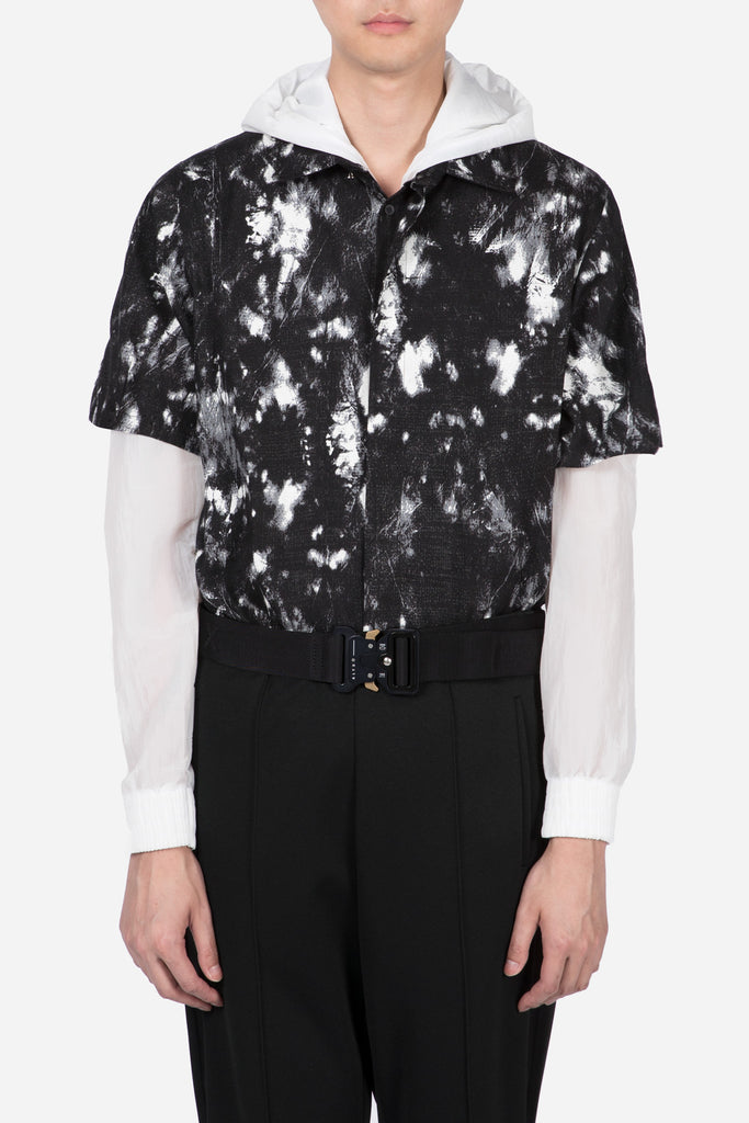 Tatoo Print Shirt Black