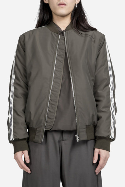 Harmony - Mathys Striped Bomber Olive
