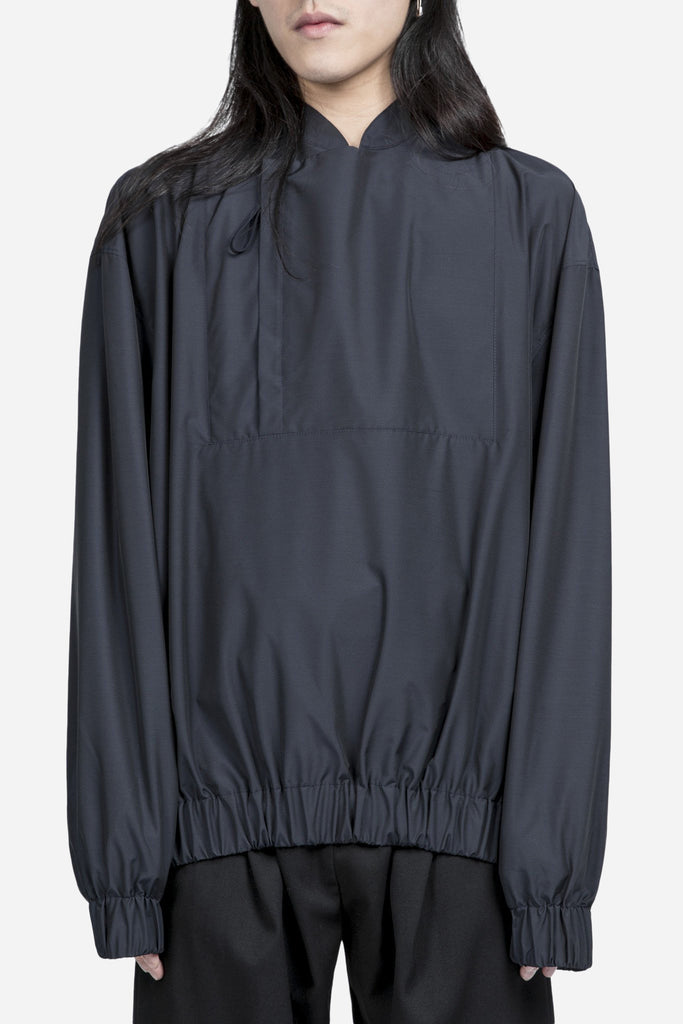 Track Top Nylon Navy