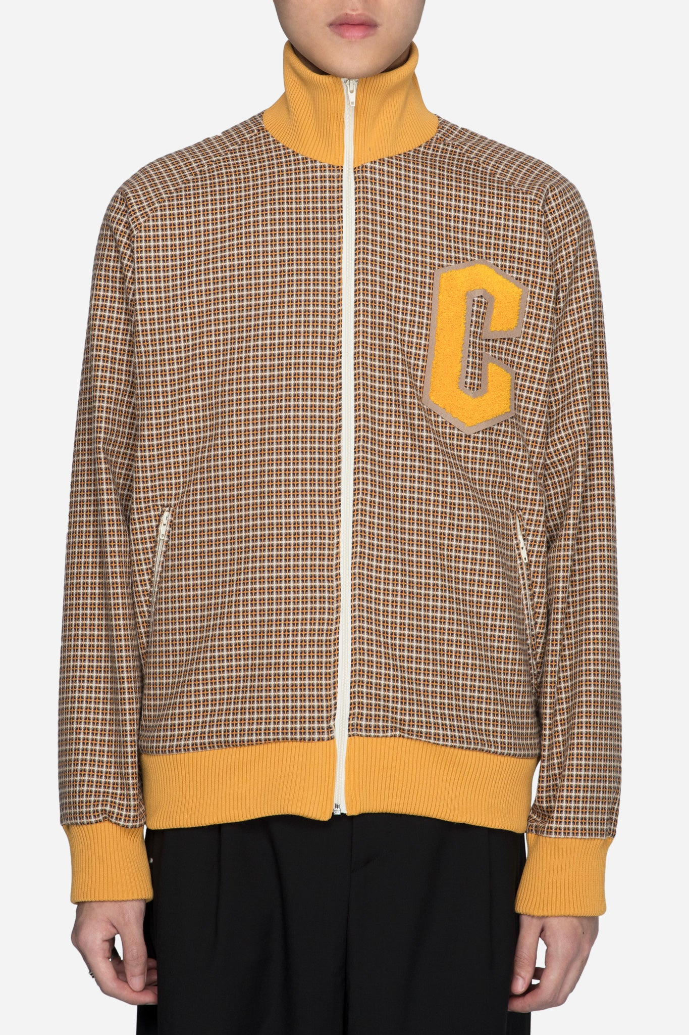 Track Jacket Yellow Check