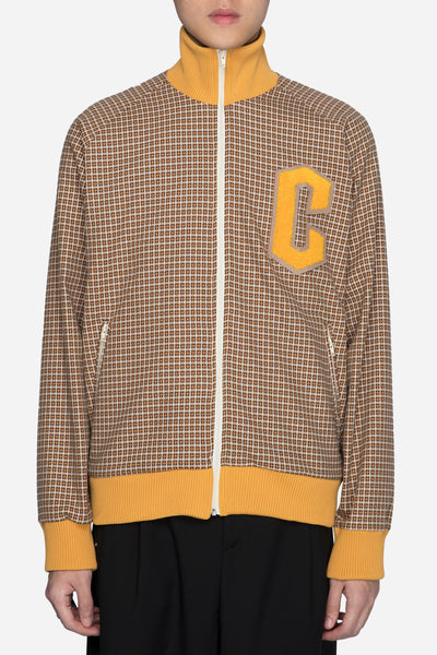 CMMN SWDN - Track Jacket Yellow Check