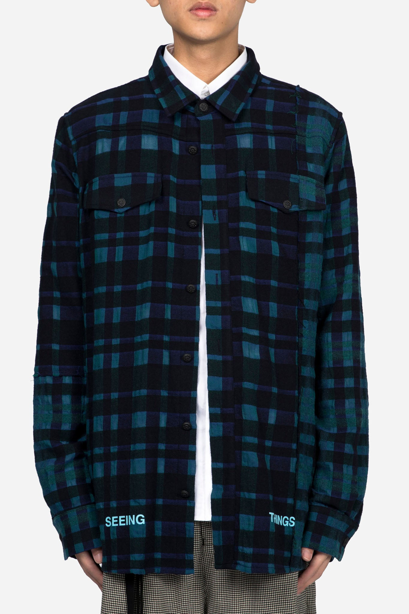 Mixed Check Shirt All Over